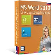GOPAS MS Word 2013 – 3 samoštudijné výukové kurzy na 365 dní SK (elektronická licencia) - Elektronická licencia