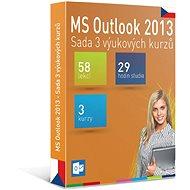 GOPAS MS Outlook 2013 – 3 samoštudijné výukové kurzy na 365 dní CZ (elektronická licencia) - Elektronická licencia
