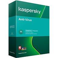 Kaspersky Anti-Virus pre 1 PC na 12 mesiacov, nový (BOX)