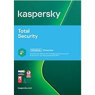 Kaspersky Total Security multi-device 2018 pre 1 zariadenie na 12 mesiacov (elektronická licencia) - Bezpečnostný softvér