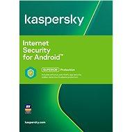 Kaspersky Internet Security pro Android CZ pro 1 mobil nebo tablet na 24 měsíců (elektronická licenc