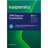 Kaspersky VPN Secure Connection for 5 Devices for 12 Months (Electronic License)