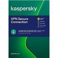 Kaspersky VPN Secure Connection pre 5 zariadení na 12 mesiacov (elektronická licencia)