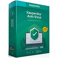 Kaspersky Anti-Virus, nová licencia (BOX)