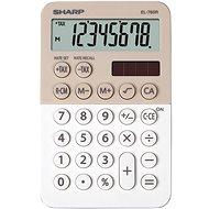Sharp EL-760R latte/biela - Kalkulačka