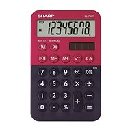 Sharp EL-760R červeno/čierna - Kalkulačka