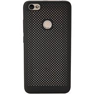 Xiaomi ATF4842GL Original Perforated Hard Case Black pro Redmi Note 5A Prime - Ochranný kryt