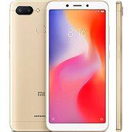 Xiaomi Redmi 6 64 GB LTE Zlatý - Mobilný telefón