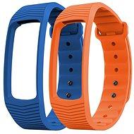 EVOLVEO FitBand B3 náramok modrý + oranžový - Remienok