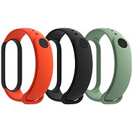 Xiaomi Mi Band 5 Strap (Black, Orange, Cyan) - Remienok