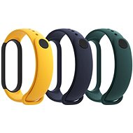 Xiaomi Mi Band 5 Strap (Blue, Yellow, Green) - Remienok