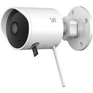 YI Outdoor 1080P White Camera - IP Camera