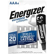 Energizer Ultimate Lithium AAA/4 - Jednorazová batéria