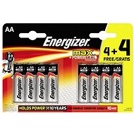 Energizer Max Tužka AA 4 + 4 ks - Batéria
