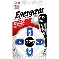 Energizer 675 DP-4 pre audioprotetiku - Gombíkové batérie