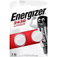 Energizer Lítiová gombíková batéria CR2430 2 kusy - Gombíkové batérie