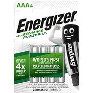Nabíjateľná batéria Energizer Power Plus AAA 700 mAh 4 ks