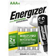 Nabíjateľná batéria Energizer Universal AAA 500 mAh 4 ks