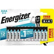 Energizer MAX Plus AAA 8 + 4 ks - Jednorázová batéria