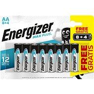 Energizer MAX Plus AA 8 + 4 ks - Jednorázová batéria