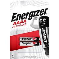 Energizer Špeciálna alkalická batéria AAAA (E96/25A) 2 kusy - Jednorázová batéria