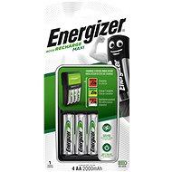 Energizer MAXI charger + 4× AA 2000 mAh NiMH - Nabíjačka batérií