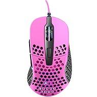XTRFY Gaming Mouse M4 RGB Růžová - Herná myš