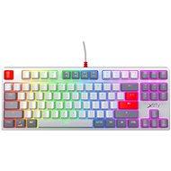 Xtrfy K4 TKL RGB, Kailh Red, Retro (US) - Herná klávesnica
