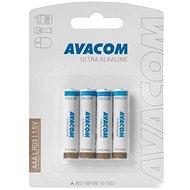 AVACOM Ultra alkalické AAA 4ks v blistri - Jednorazová batéria
