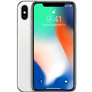 iPhone X 64 GB Silver DEMO - Mobilný telefón