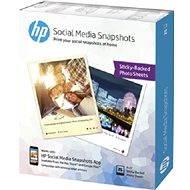 HP Social Media Snapshots Removable Sticky Photo Paper - Fotopapier