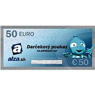 Elektronický dárkový poukaz Alza.sk na nákup zboží v hodnotě 50 € - Poukaz