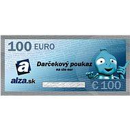 Elektronický darčekový poukaz Alza.sk na nákup tovaru v hodnote 100 € - Poukaz