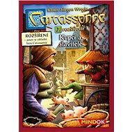 Carcassonne Kupci a stavitelia - 2. rozšírenie - Rozšírenie spoločenskej hry