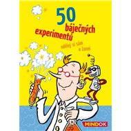 50 báječných experimentov - Spoločenská hra