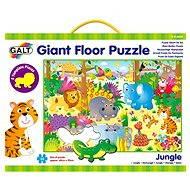 GALT Veľké podlahové puzzle – zvieratká v džungli - Puzzle