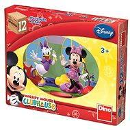 Dino Drevené puzzle Mickey Mouse - Puzzle