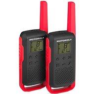 Motorola TLKR T62, červené - Vysielačky