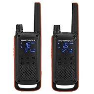Motorola TLKR T82, oranžová/čierna - Vysielačka