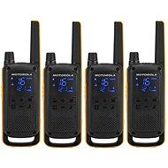Motorola TLKR T82 Extreme, Quadpack, žltá/čierna - Vysielačka