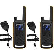 Motorola TLKR T82 Extreme, RSM Pack, žltá/čierna - Vysielačka