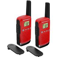 Motorola TLKR T42, červená - Vysielačka