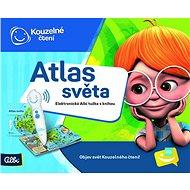 Kúzelné čítanie – Elektronická ceruzka s knihou Atlas sveta - Kniha pre deti