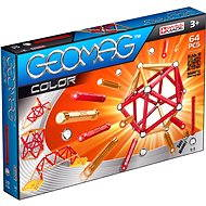 Geomag - Kids Color 64 dielov - Magnetická stavebnica