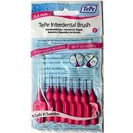 TEPE Medzizubné kefky 0,4 mm Normal - ružové 8 ks - Medzizubná kefka