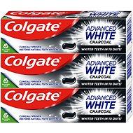 COLGATE Advanced White Charcoal 3× 75 ml - Zubná pasta