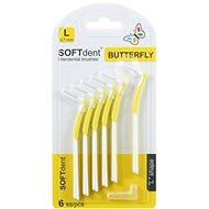 SOFTdent Butterfly 0,7 mm, 6 ks - Medzizubná kefka