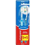 COLGATE Extra Clean multipack 1 + 1 - Zubná kefka