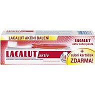 LACALUT Aktiv 75ml + kefka na zuby - Zubná pasta