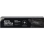 ECODENTA Extra Black whitening toothpaste with black charcoal and Teavigo™ 100 ml - Zubná pasta